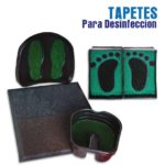 Tapetes para desinfeccion Tactical